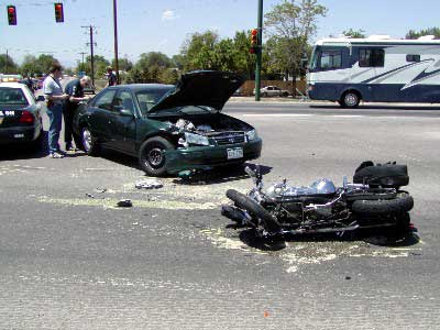 On-Scene - June 2002 --- Fatal Motorcycle Accident Hwy 85 and 124th Ave.