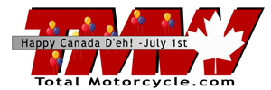 Total Motorcycle Canada Day Logo