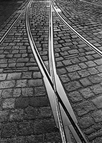 X Trap - A place in the road where railroad or street car tracks cross, creating a slit in which the narrow tire of a motorcycle can get caught or wedged.