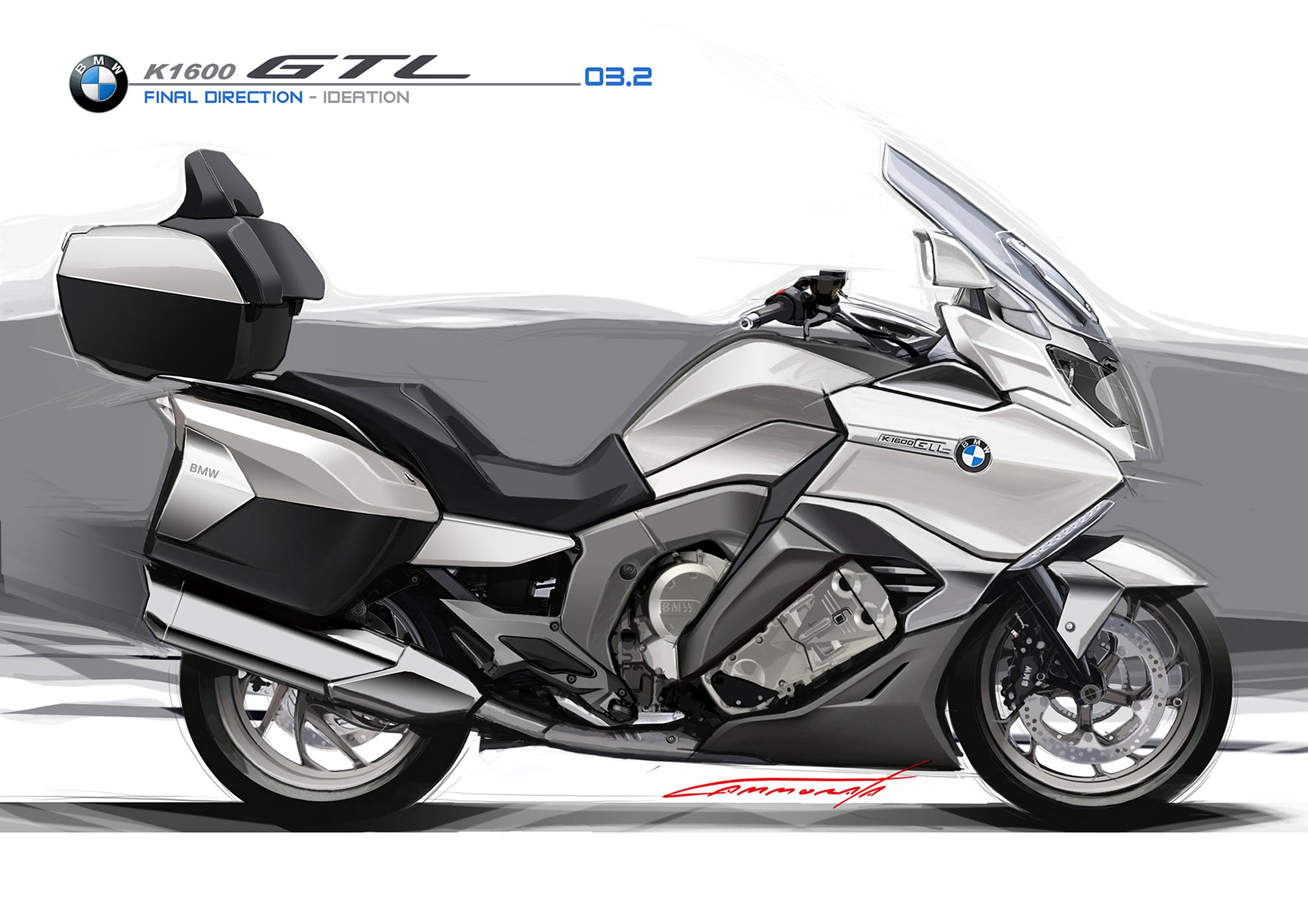 2017 BMW K1600GTL Review