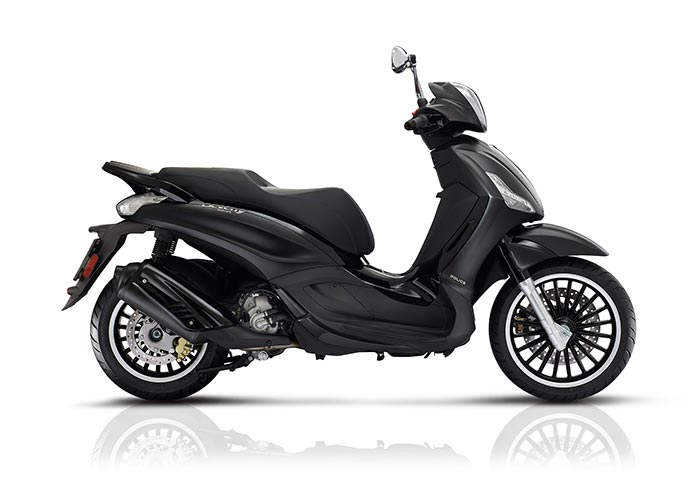 2017 Piaggio Beverly 300 by Police