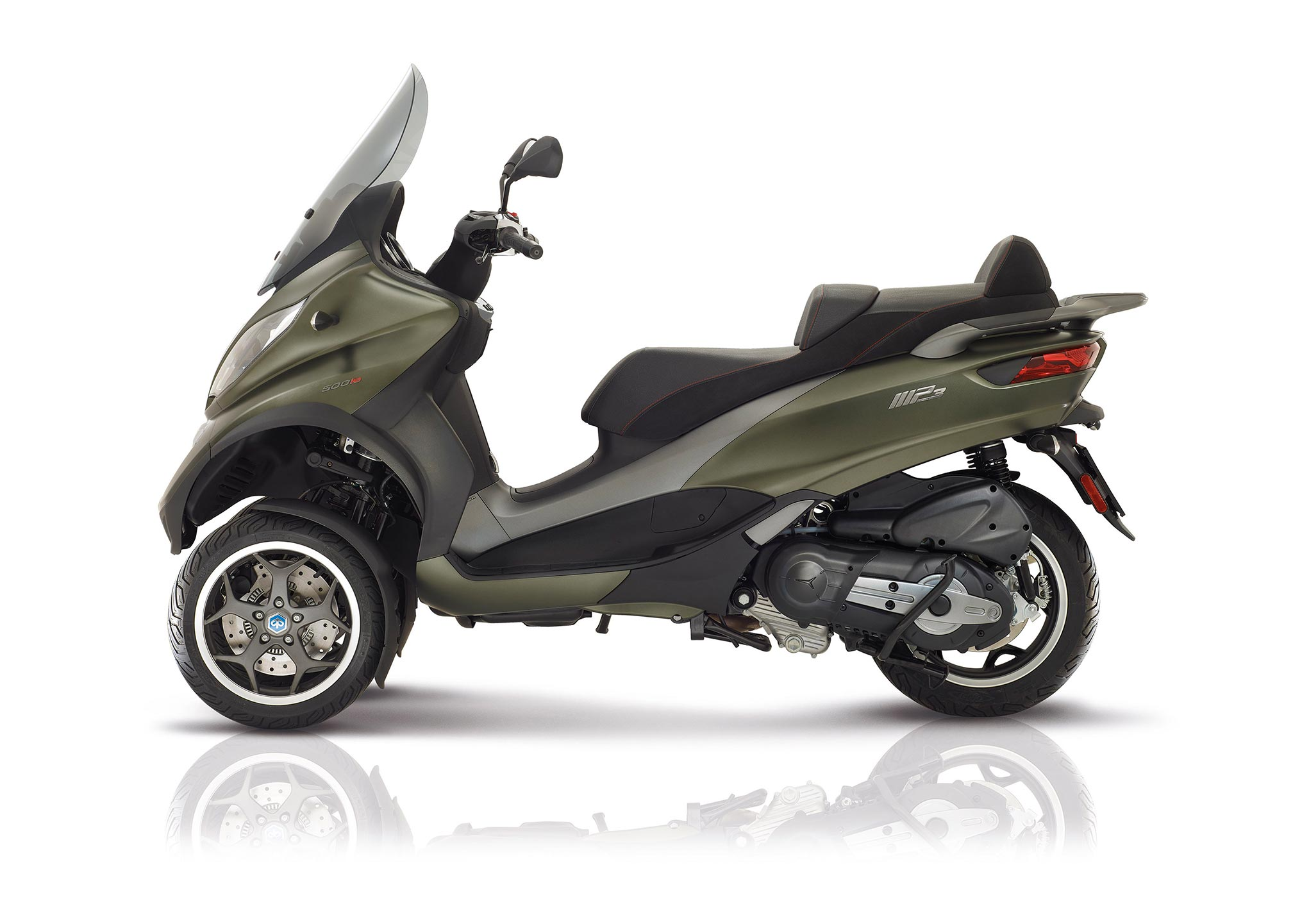 2017 piaggio mp3 500 sport abs asr review