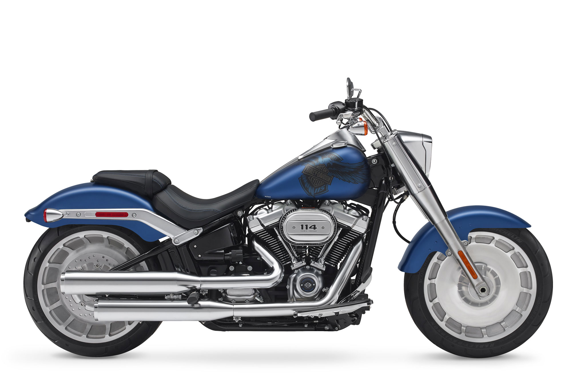 2018 harley davidson fat boy 115th anniversary anx review totalmotorcycle. Black Bedroom Furniture Sets. Home Design Ideas