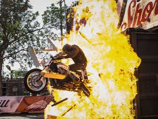 2018 Sturgis Motorcycle Rally: Demo Rides & Thrill Shows