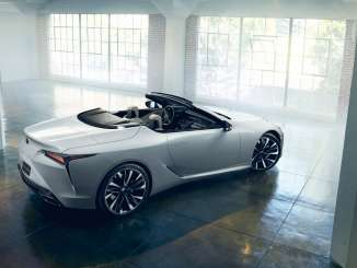 NAIAS 2019 News - LEXUS LC CONVERTIBLE CONCEPT MAKES WORLD DEBUT IN DETROIT