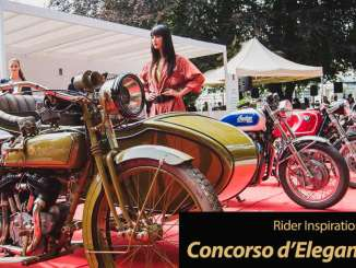 Rider Inspiration Friday: Motorcycle fascination at Concorso d'Eleganza Villa d'Este 2019