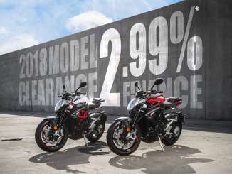 MV Agusta USA 2.99% low finance offer on motorcycle models