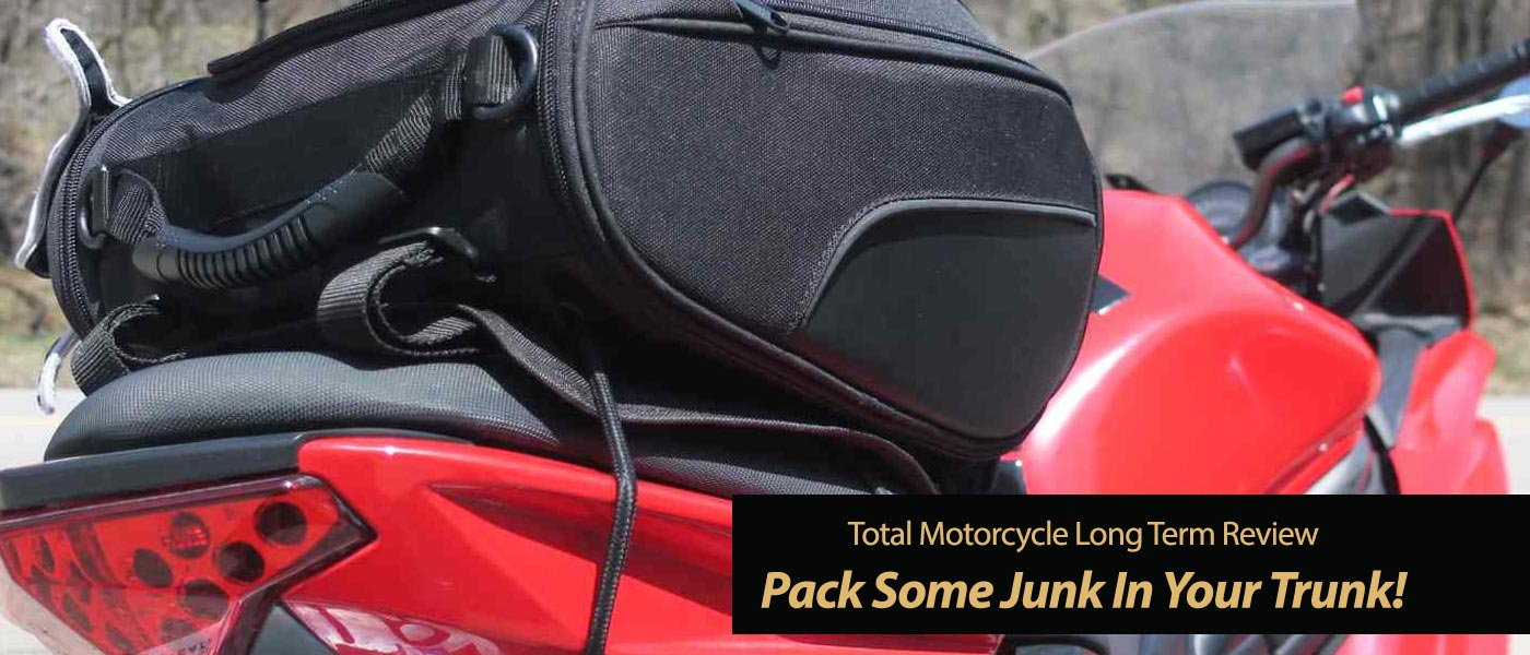 Tail Bag Test – Pack Some Junk In Your Trunk!