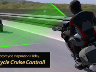 Inspiration Friday: Active Motorcycle Cruise Control