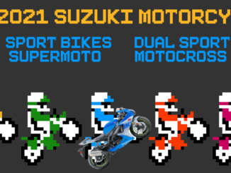 2021 Suzuki Motorcycles Game On