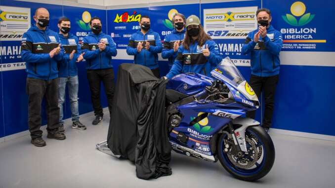 Biblion Motoxracing Yamaha Confirms Maria Herrera for WorldSSP