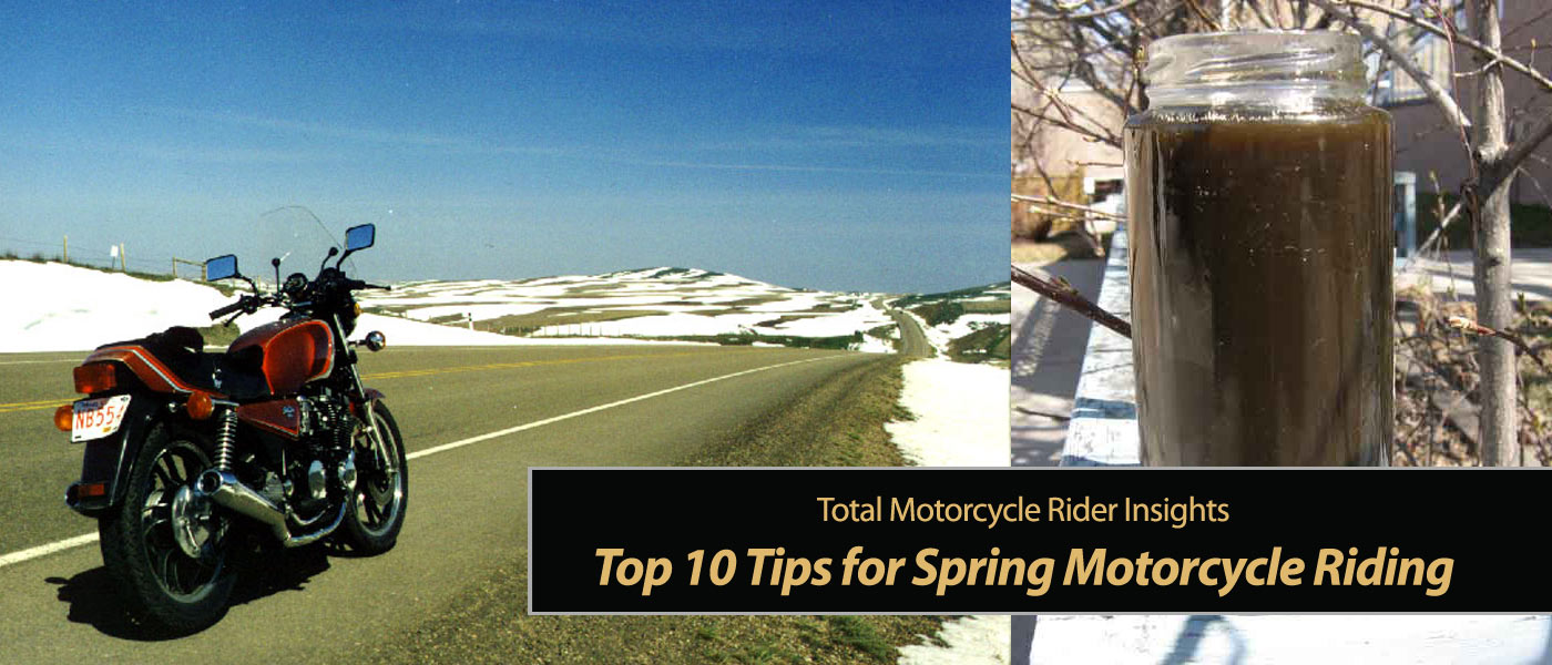 TMW's Top 10 Tips for Spring Motorcycle Riding