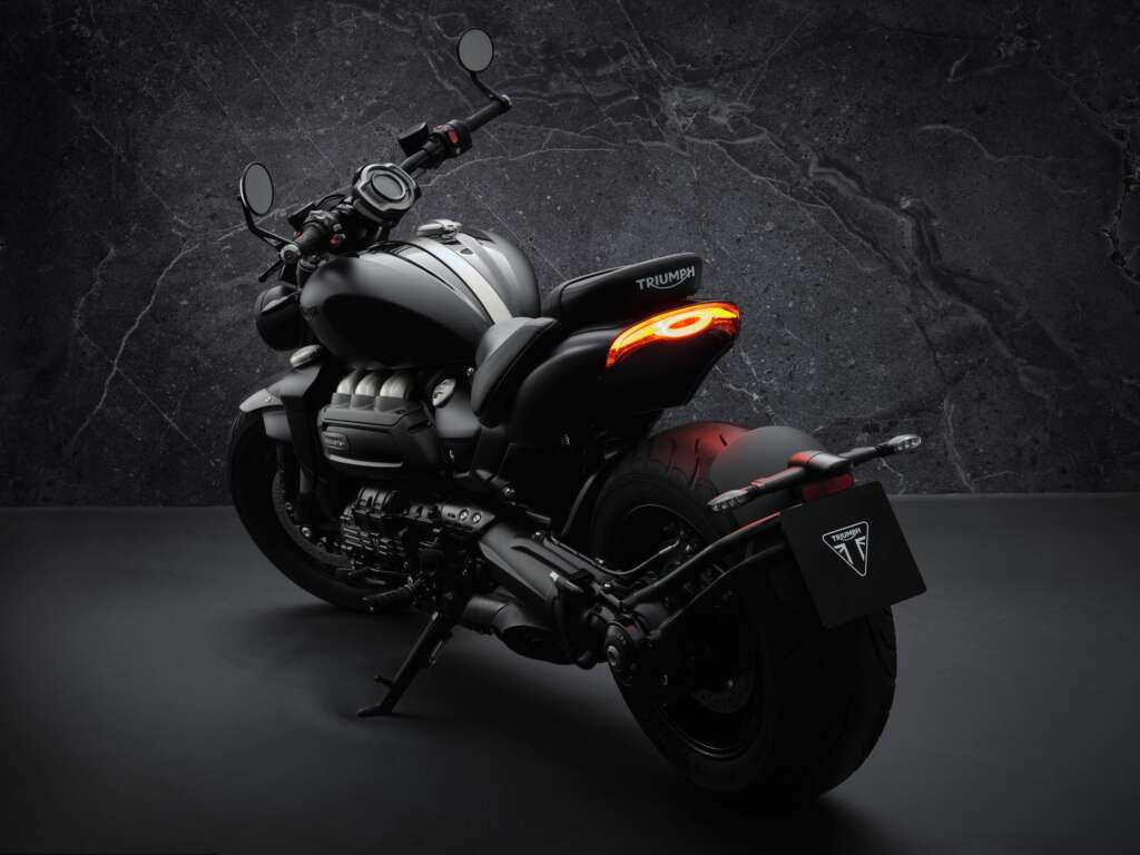 2021 Triumph Rocket 3R Black