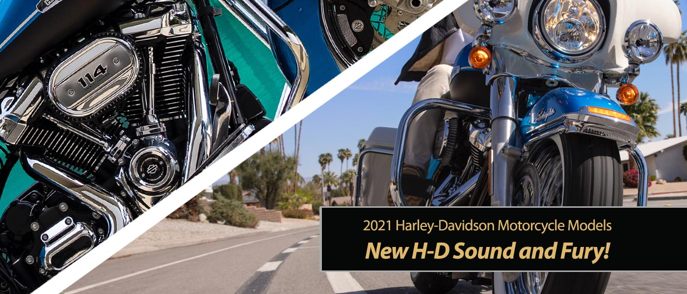 New Harley-Davidson Sound & Fury!