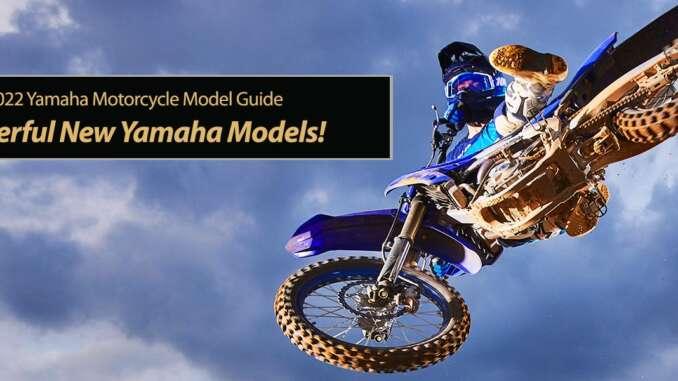 Powerful new 2022 Yamaha Motorcycles
